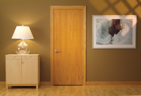 In Stock Doors for Miller Door and Trim Wood Stock Door & Wood Stock Door Oak_Flush - Miller Door And Trim