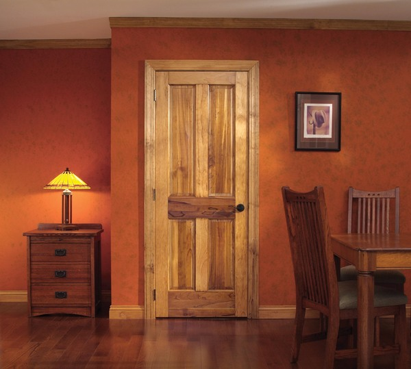 Wood Stock Door Miller Doors in stock Goshen & wood stock door 4_Panel_Radiata - Miller Door And Trim