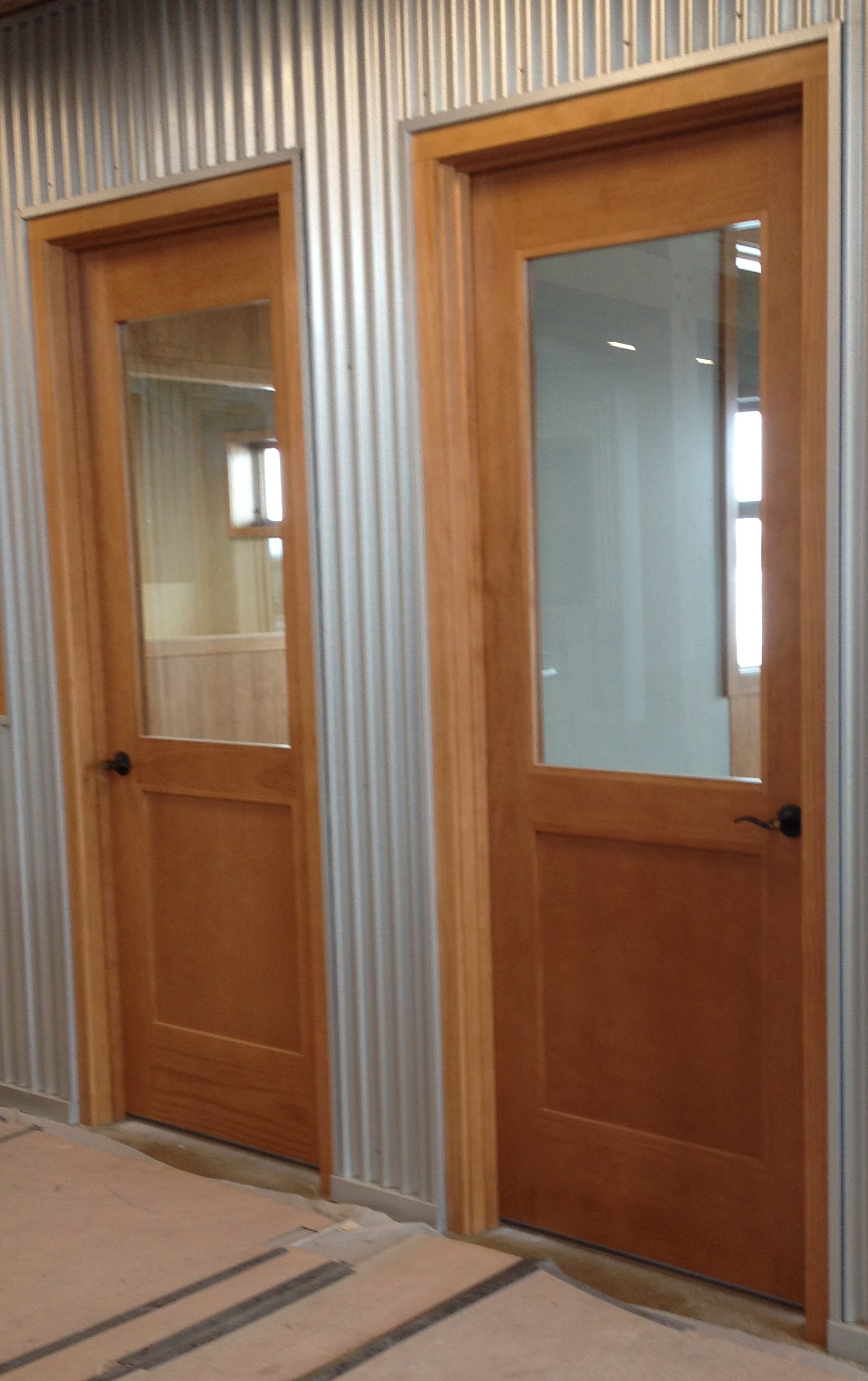 Beautiful office doors miller door and trim for Doors and doors